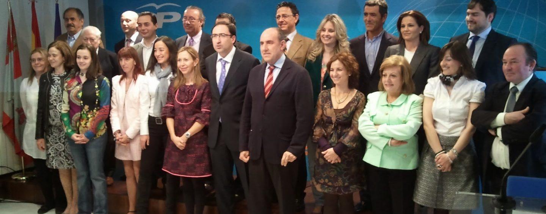 Candidaturas del Partido Popular de Palencia al Congreso y Senado