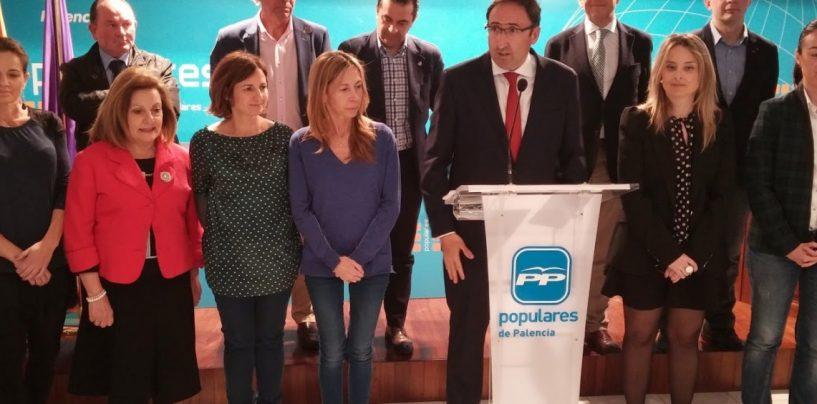 Parlamentarios nacionales del Congreso y Senado del Partido Popular por Palencia