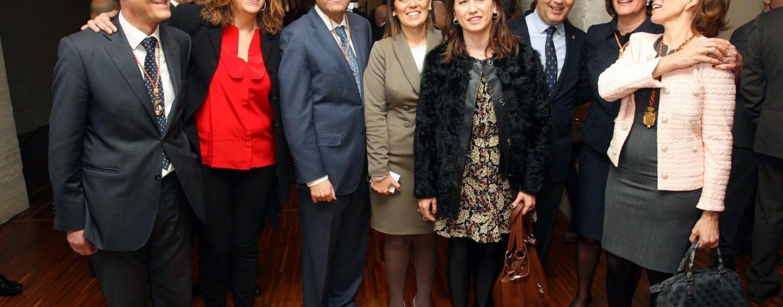 Mª Victoria Carracedo, Fernando Martín Antolín y Sara Esteban, cabezas de lista del Partido Popular