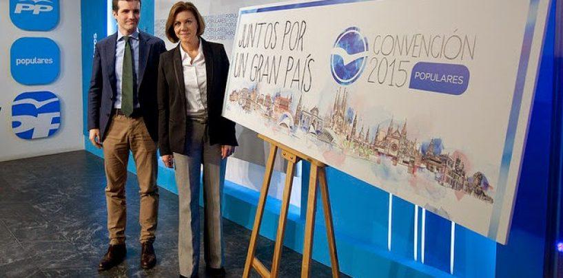 Treinta palentinos participarán en la Convención Nacional del Partido Popular