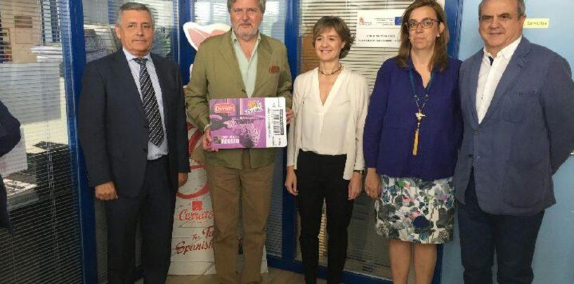 Méndez de Vigo, nuevo socio del Quesos Cerrato Palencia