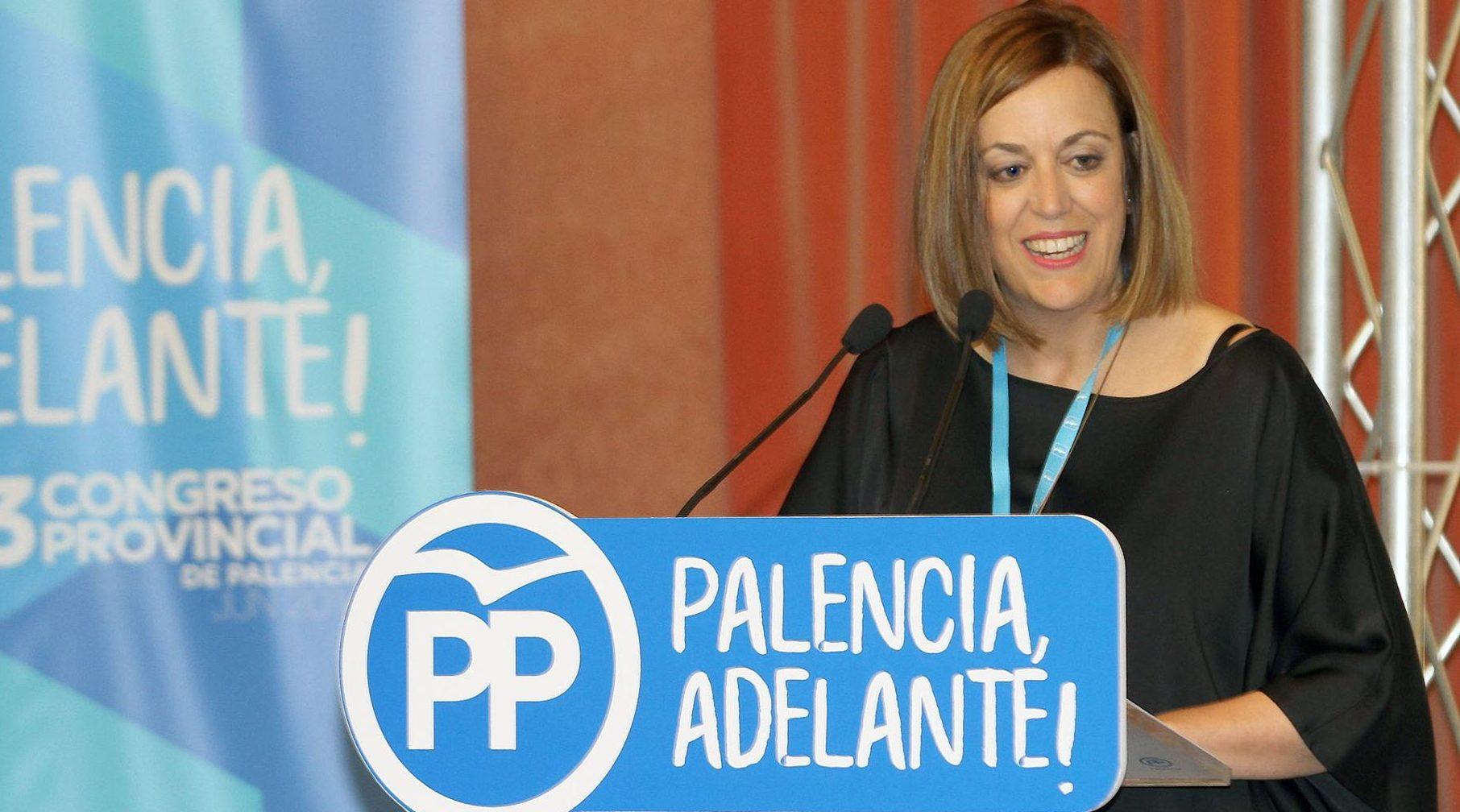 Ángles Armisén, Presidenta del Partido Popular de Palencia