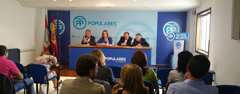 Hoja de adscripción a comisiones y para actualización de datos del Partido Popular de Palencia
