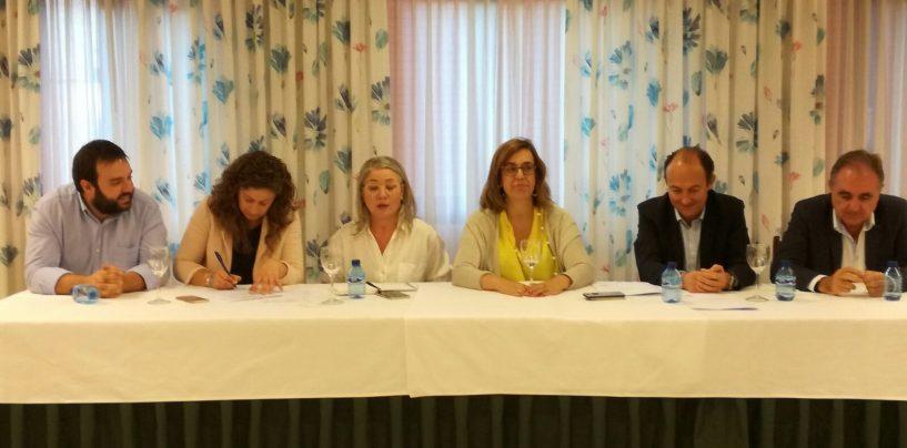 María José Ortega reelegida presidenta del PP de la comarca de Aguilar