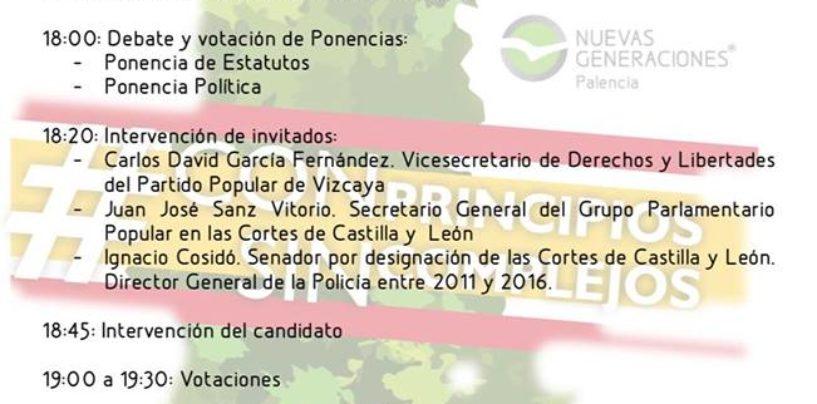 IX Congreso Provincial de NNGG de Palencia