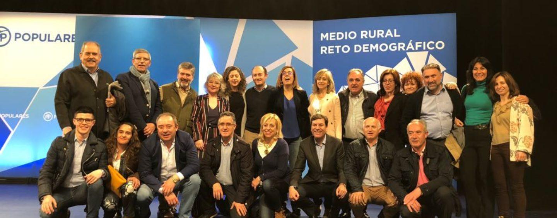 El Partido Popular de Palencia participa en la Convención Nacional sobre mundo rural y reto demográfico organizada por los populares en Zamora
