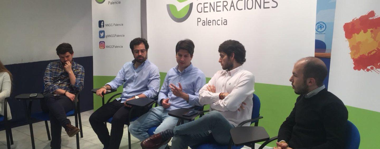 El Presidente Nacional acompaña a Nuevas Generaciones Palencia en su primera Junta Directiva