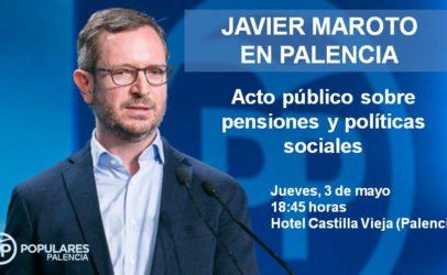Maroto, Fernández Mañueco y Armisén participan en una jornada del PP sobre Políticas Sociales y Pensiones