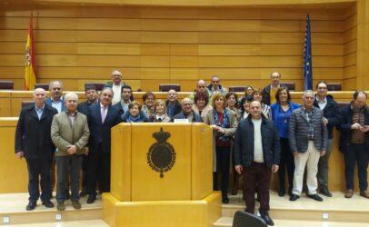 Alcaldes y concejales del PP de la zona de Carrión de los Condes visitan el Senado para conocer el trabajo desarrollado por esta Institución